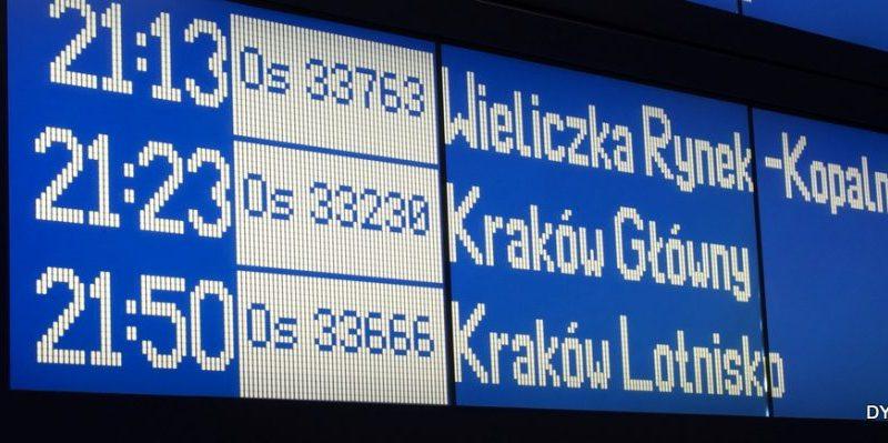 railway display main station display board nine lines