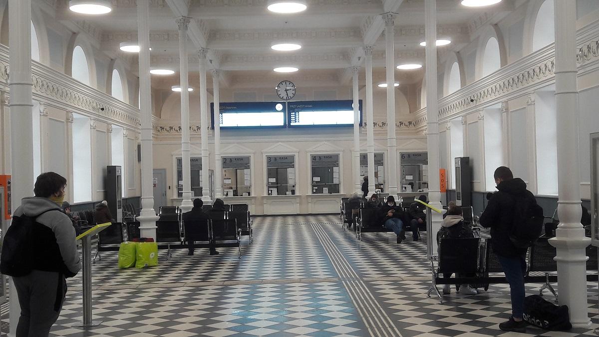 Wyświetlacz Główny Stacyjny WGS dworzec Białystok