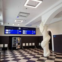 wyświetlacz LED odjazdy przyjazdy LED display departures arrivals