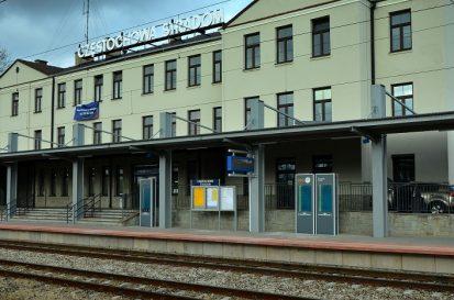 czestochowa stradom railwaystation dysten