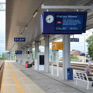 train platform display Stacja-Radom-IPI-6-CSDIP-CASDIP-PKPPLK-