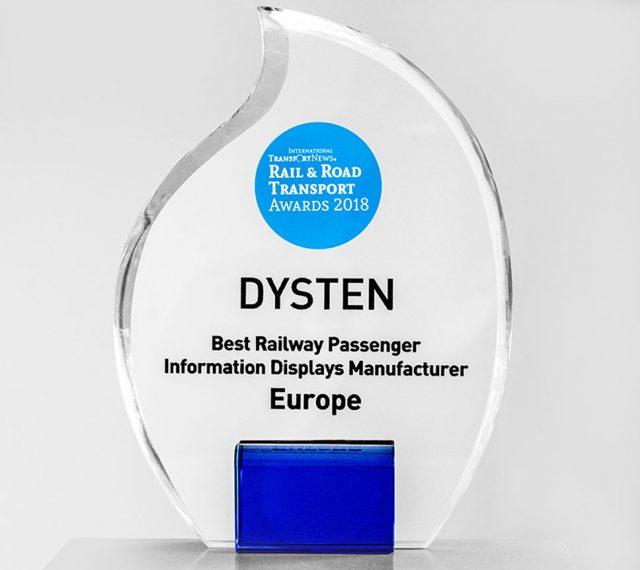 najlepszy producent wyświetlaczy dla kolei