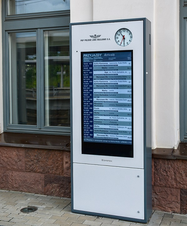 Railway display Inforkiosk INF TOTEM46