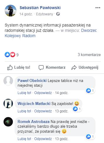 opinie pasażerów stacja Radom