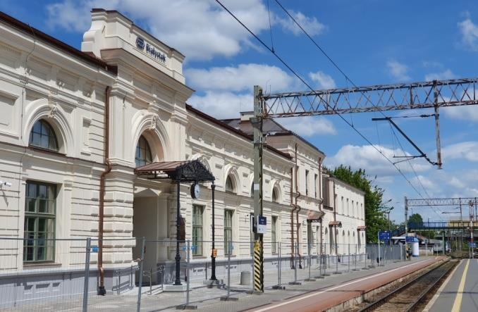 pids project Bialystok railway station