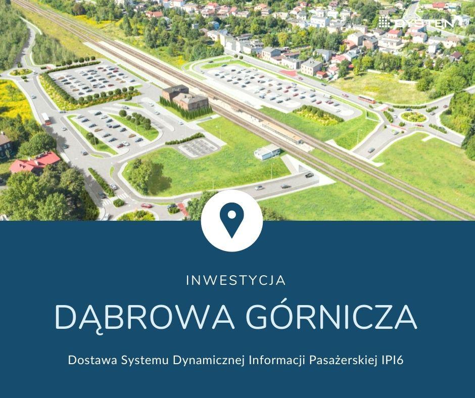 Kompletny system dynamicznej informacji pasażerskiej IPI 6 dla Dąbrowy Górniczej