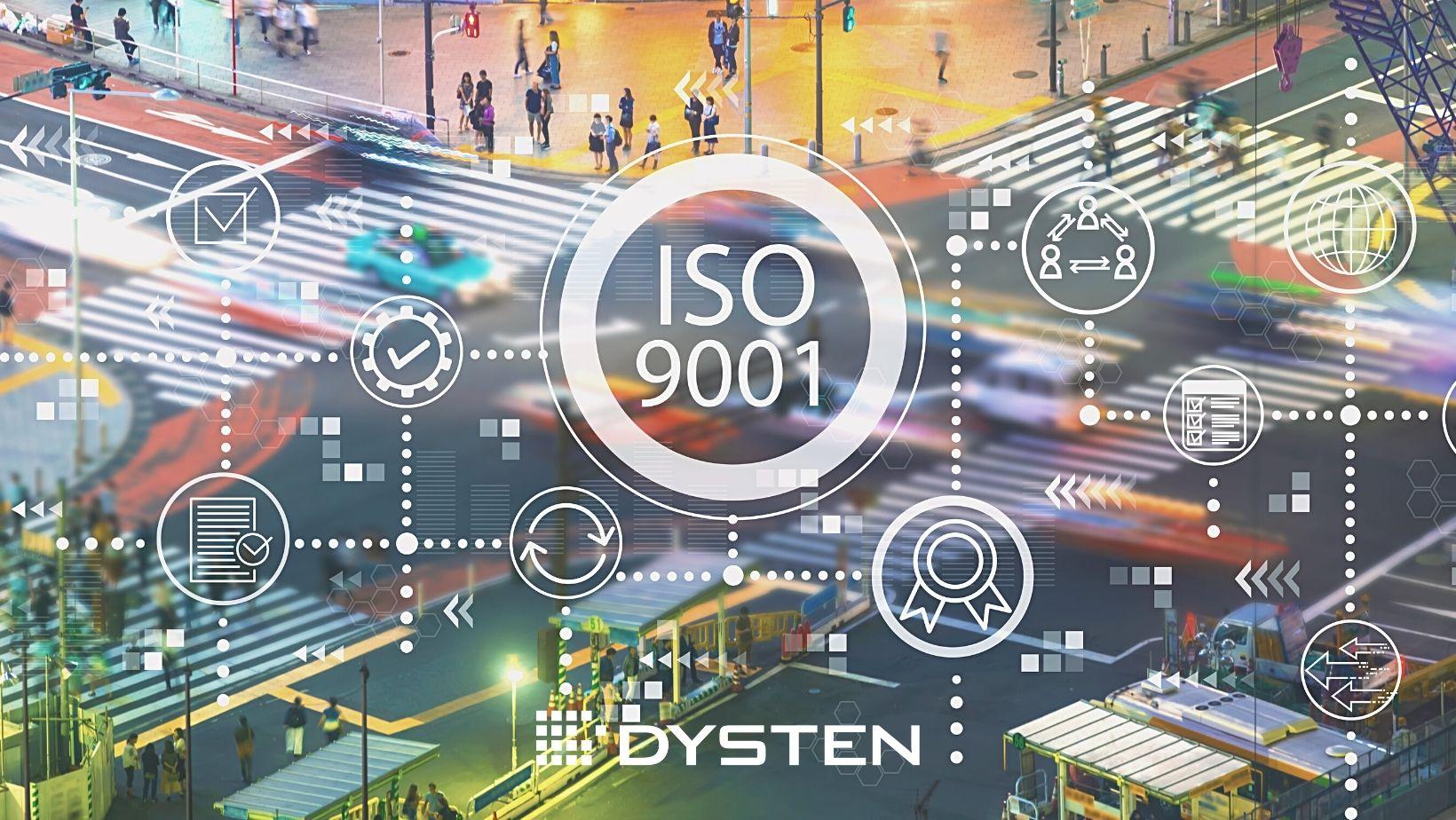 ISO 9001:2015 Dysten