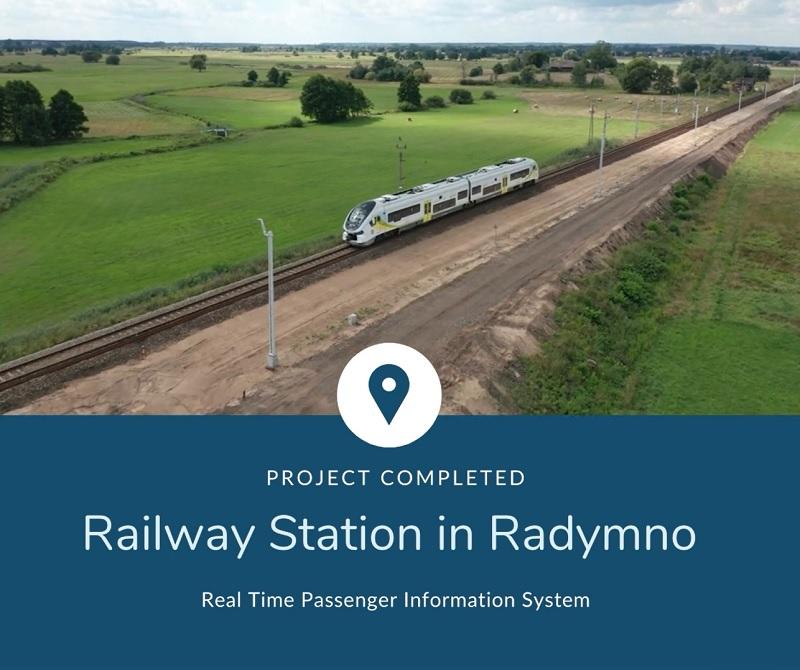 Reconstruction of railway station PKP S.A. Radymno